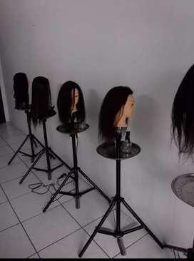 Cabezas de peinados