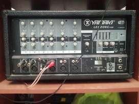 Vendo amplificador YAMAKI 6 canales con dos cabinas