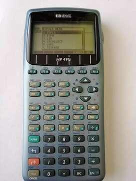 Calculadora HP 49g Integra deriva programa en la cava del libro tienda multiservicios multiproductos