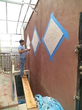 Pintor de casas y edificios