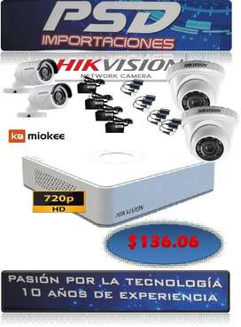 kit de cámaras de seguridad