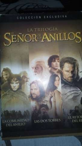 Vendo trilogía /dvd / el señor de los anillos / en español