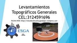 Georreferenciació de proyectos y Levantamientos Topográficos Generales