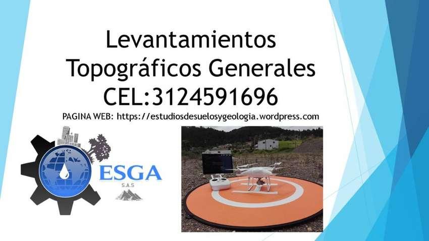 Georreferenciació de proyectos y Levantamientos Topográficos Generales 0