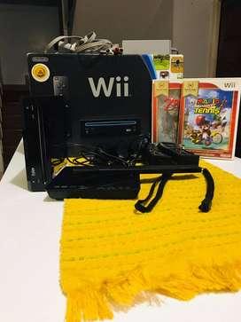 Consola Nintendo Wii, Caja Original Y Accesorios