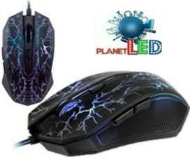 Mouse Gamer Experto Retroiluminado 7 Botón Ergonómico.