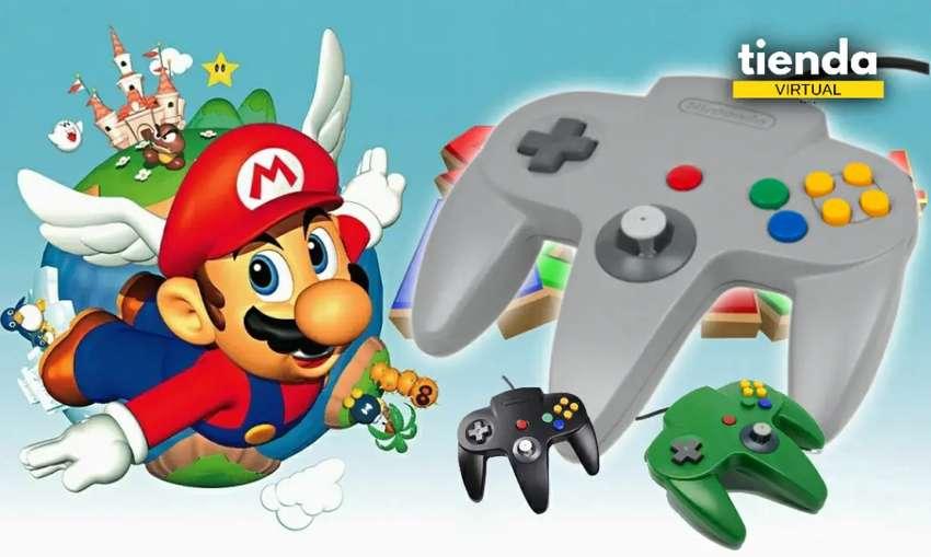 Mando usb Nintendo 64 0