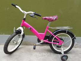 Bicicleta niña aro 14 poco uso