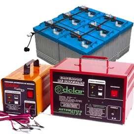 """Repararción y Venta de cargadores de batería DOLAR, CHARGER y ELECTRO-TEC (""""Fábrica directa"""")"""