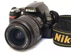 Vendo Cámara Nikon D40