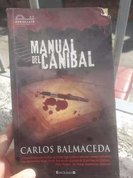 Libro manual de un canibal BALMACEDA
