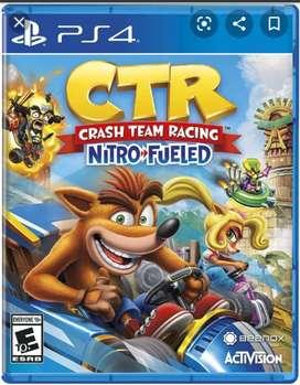 Crash team racing Crt PS4