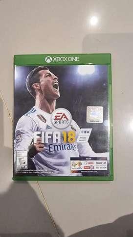 Fifa 18 Xbox One perfecto estado