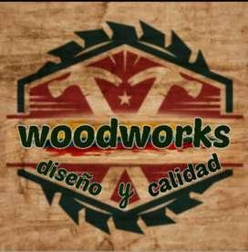 Woodworks. Trabajos en madera RH y melanina