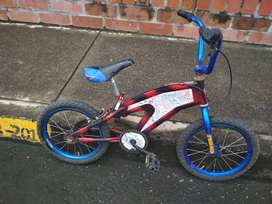 Bicicleta niño usada para restaurar