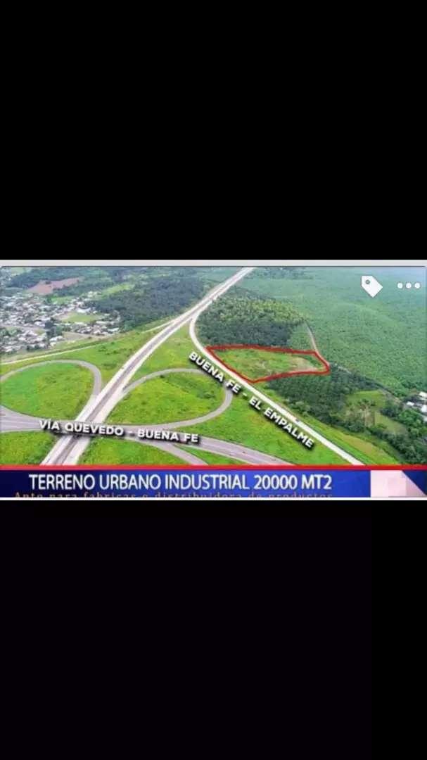Vendo 2 hectareas terreno industrial Urbano 0
