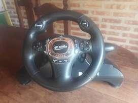 Vendo volante y pedal para PS3 y pc