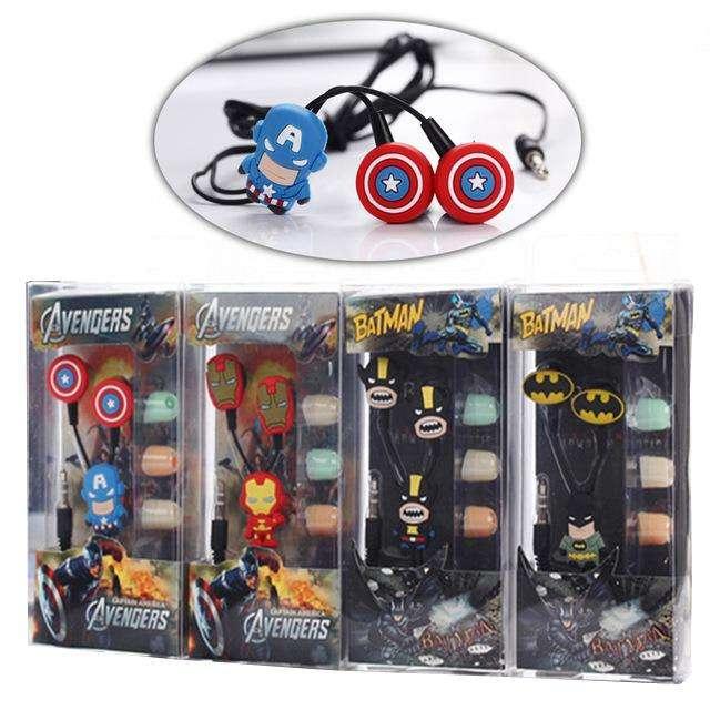 Audifonos de Superheroes Y Comics 0