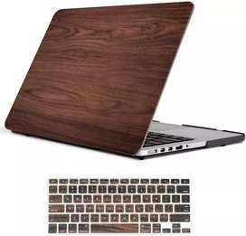 Carcasa  macbook pro 13 madera