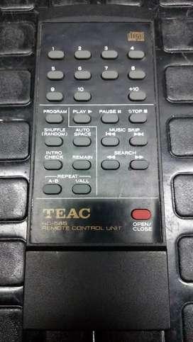 Teac control remoto