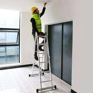 Alquiler de Escalera de Aluminio