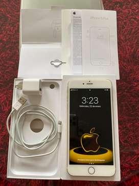 Iphone 6 plus Dorado 128GB