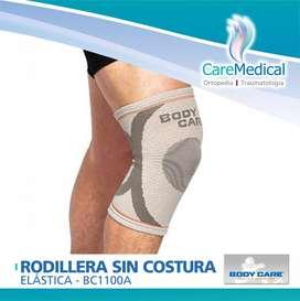 Rodillera Sin Costura Body Care BC1100A Ortopedia Care Medical