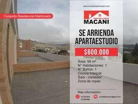 Se Arriendan Apartaestudios Conjunto Residencial Maldonado