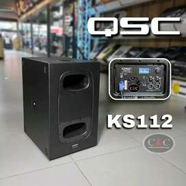 BAJO ACTIVO DE 12 PULGADAS 2000W QSC KS112