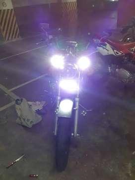Zanella egle black motor lineal 250cc.