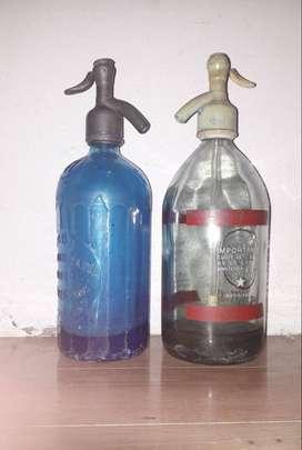Sifones de soda antiguos