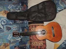 Guitarra Clasica Criolla Porteña Con Funda