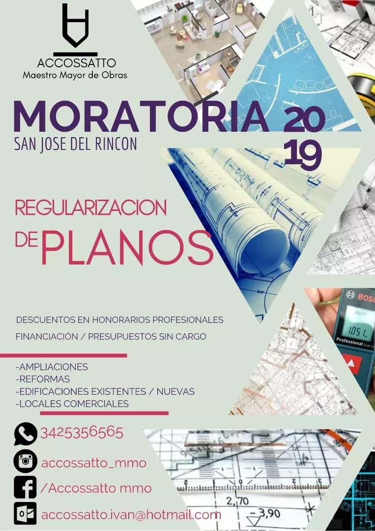 REGULARIZACIÓN De PLANOS - Moratoria 2019  San José del Rincón 0