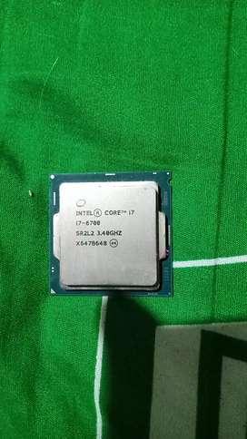 Procesador Intel core i7-6700 inside