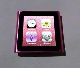 iPod Nano Rosa con cable