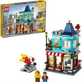 LEGO Creator 3in1 Townhouse Toy Store 31105 Cool Buildable for Kids Building Kit New 2020 554 Pieces Ref:VS-US0035433