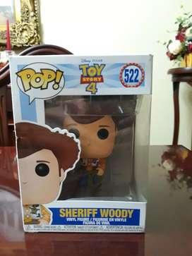 Funko pop toy story 4 sheriff woody 522 original-nuevo