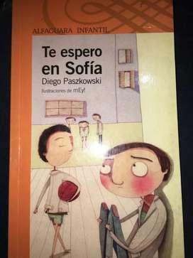 Libro Te espero en Sofía