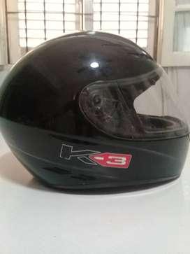 Casco AGV K3 Basic, color negro