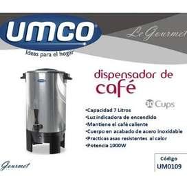 DISPENSADOR DE CAFE UMCO 30 TAZAS NUEVO