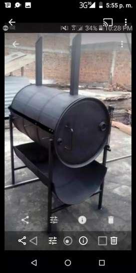 Se elabora asador para lechón