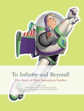 Libro Infinity and Beyond, historia de pixar, en ingles, estado 9.9 de 10