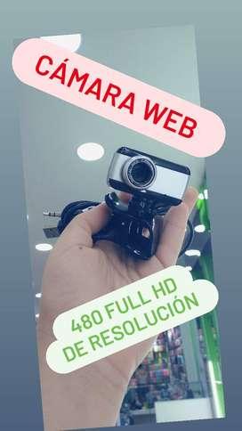 Camara web 480 full hd