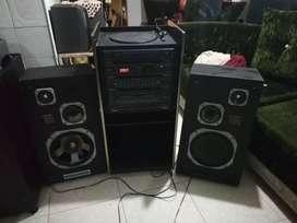 Equipo de sonido ozaka