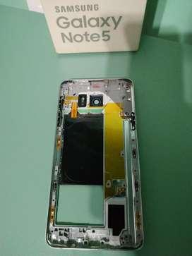 Carcasa Interna Marco Samsung Note 5 N920 Original Repuesto