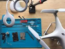 Reparación y mantenimiento de drones