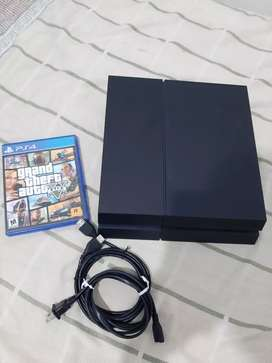 Play station 4 sin control + gta v