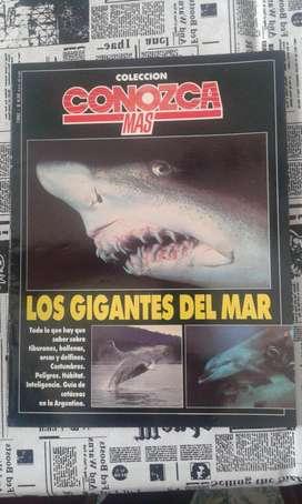 Revista Conozca Mas Colección Año 1992 Los Gigantes Del Mar