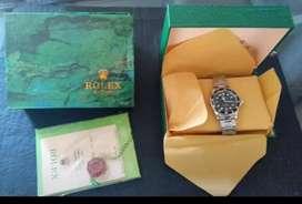 Caja y contracaja Rolex más certificacion