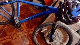 Vendo Bicicleta Azul TREK